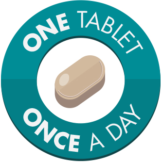 TAGRISSO is a once daily, 80 mg tablet